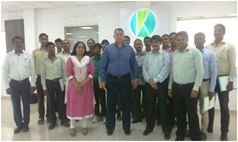Corporate programme at K Hemani Group, Mumbai